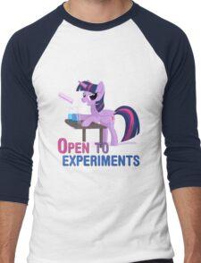 Open to experiments Men's Baseball ¾ T-Shirt