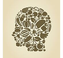 Head food Photographic Print