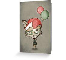 Christmas Fox Greeting Card