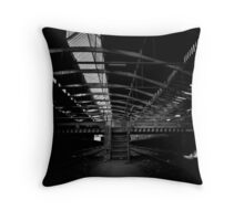 station stairs. Throw Pillow