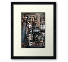 Machinist - My really cool job Framed Print