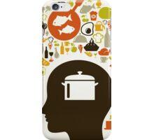 Head food5 iPhone Case/Skin