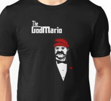 The Super Godfather Mario  Unisex T-Shirt