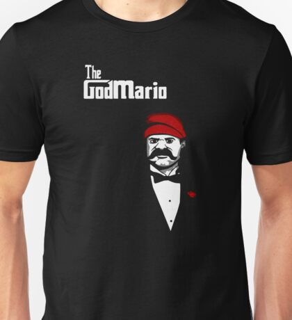 The Super Godfather Mario  Unisex T-Shirt