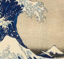 Japanese tsunami Sticker