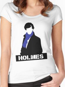 Sherlock Benedict Cumberbatch Holmes  Women's Fitted Scoop T-Shirt