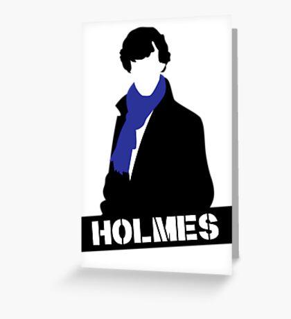 Sherlock Benedict Cumberbatch Holmes  Greeting Card
