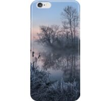 First Light on River iPhone Case/Skin