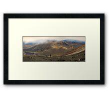 Mt Tongariro Pano Framed Print