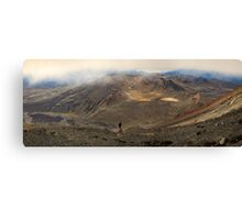 Mt Tongariro Pano Canvas Print