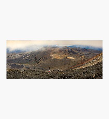 Mt Tongariro Pano Photographic Print