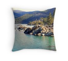 """Tahoe Morning"" Throw Pillow"