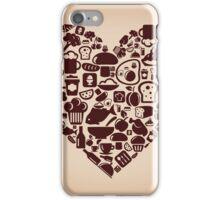 Heart food iPhone Case/Skin