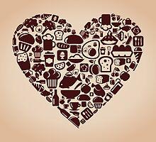 Heart food by Aleksander1
