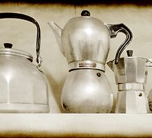 Teapots, Kettles and Coffee Pots by Clare Colins