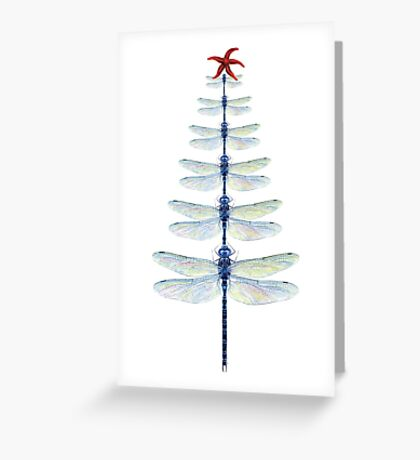 Dragonfly Tree Greeting Card