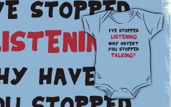 Stopped Listening by Arian-Arben