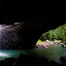 From Above - Natural Bridge by Greg Thomas