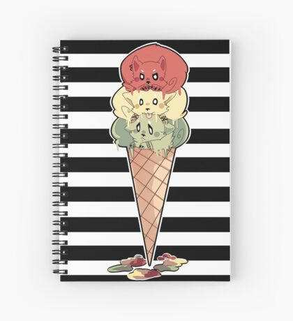 Stop Light Puppies Spiral Notebook