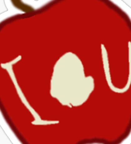 iou. Sticker