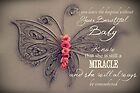 Memory Box Card - Baby Girl by CarlyMarie