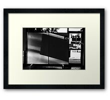 The Display Easel Framed Print