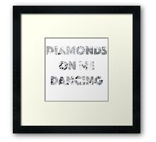 Diamond Dancing   Framed Print
