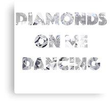 Diamond Dancing   Metal Print
