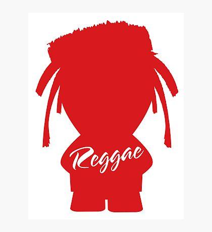 Reggae 0.3 Photographic Print