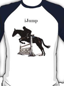 Cute iJump Equestrian Horse T-Shirt and Hoodies T-Shirt