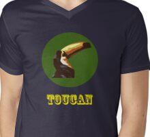 Toucan  Mens V-Neck T-Shirt