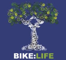 BIKE:LIFE in white T-Shirt