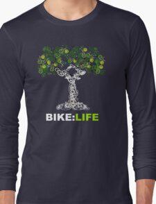 BIKE:LIFE in white Long Sleeve T-Shirt