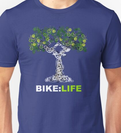 BIKE:LIFE in white Unisex T-Shirt