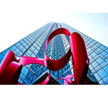 Bank Of America Plaza at Dallas Photographic Print