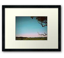 Lomo Landscape Framed Print
