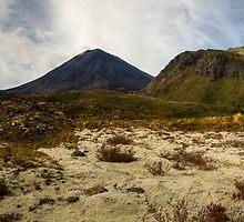 Mt Ngauruhoe pano by Michael Treloar