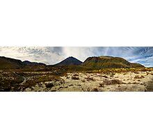 Mt Ngauruhoe pano Photographic Print