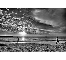Just Another Day at the Beach Photographic Print
