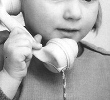 Always on the phone! Sticker