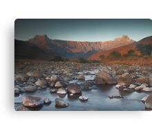 Early morning light on Amphitheater Canvas Print