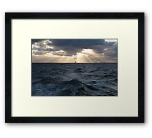 The North Sea Framed Print