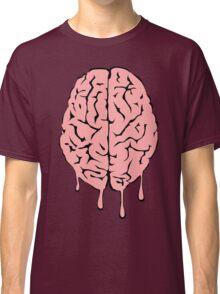 Brain melt - vector illustration of melting brain! Classic T-Shirt