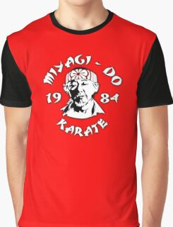 Mr. Miyagi - The Karate Kid Graphic T-Shirt
