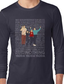 A Shirt About Nothing Long Sleeve T-Shirt