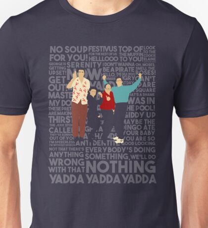 A Shirt About Nothing Unisex T-Shirt