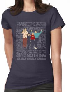 A Shirt About Nothing Womens Fitted T-Shirt