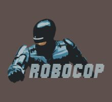 Retro Robocop by Colester