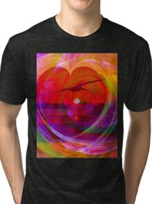 Love gives you wings Tri-blend T-Shirt