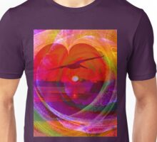 Love gives you wings Unisex T-Shirt